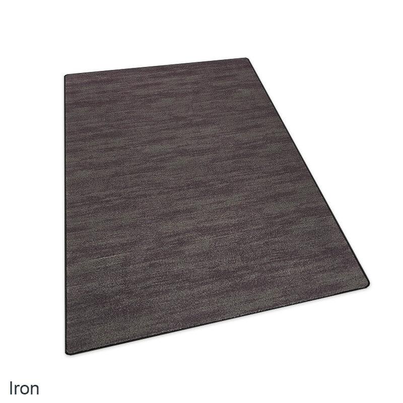 Milliken Casual Craft Indoor Area Rug Collection Iron