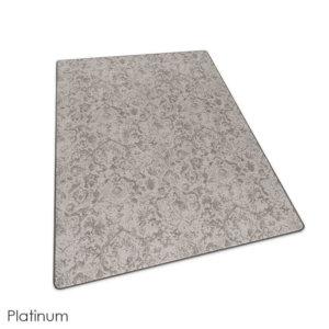 Milliken Past Modern Indoor Area Rug Collection Platinum