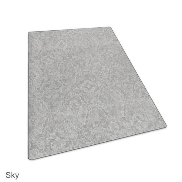 Milliken Artful Legacy Pattern Indoor Area Rug Collection Sky