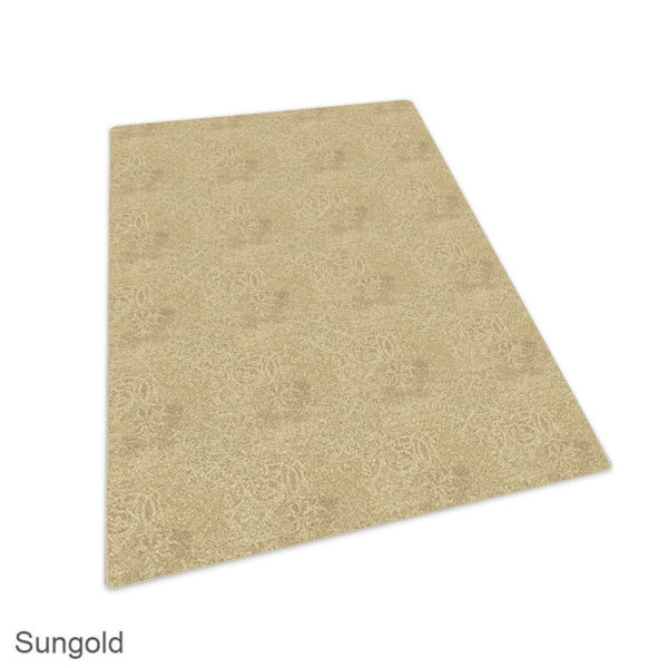 Milliken Fresco Pattern Indoor Area Rug Collection Sungold