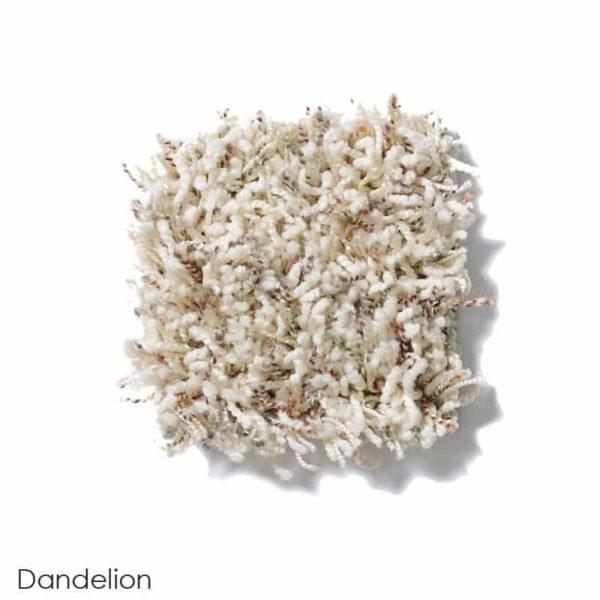 Uptown Girl Berber Tweed Indoor Shag Carpet Area Rug Collection Dandelion