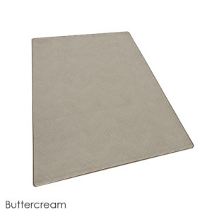 Milliken Dreamroom Chevron Pattern Indoor Area Rug Collection Buttercream