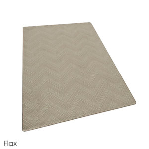Milliken Dreamroom Chevron Pattern Indoor Area Rug Collection Flax