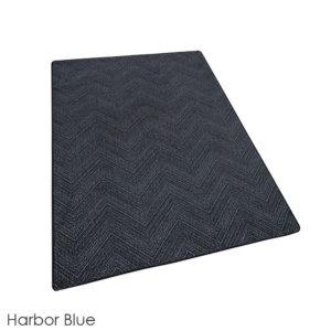 Milliken Dreamroom Chevron Pattern Indoor Area Rug Collection Harbor Blue