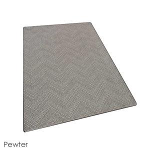 Milliken Dreamroom Chevron Pattern Indoor Area Rug Collection Pewter