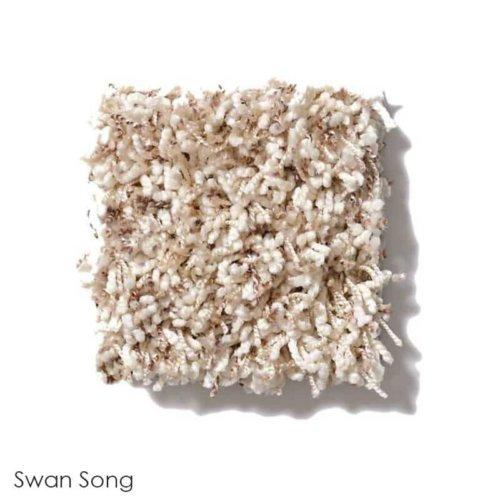 Uptown Girl Berber Tweed Indoor Shag Carpet Area Rug Collection Swan Song