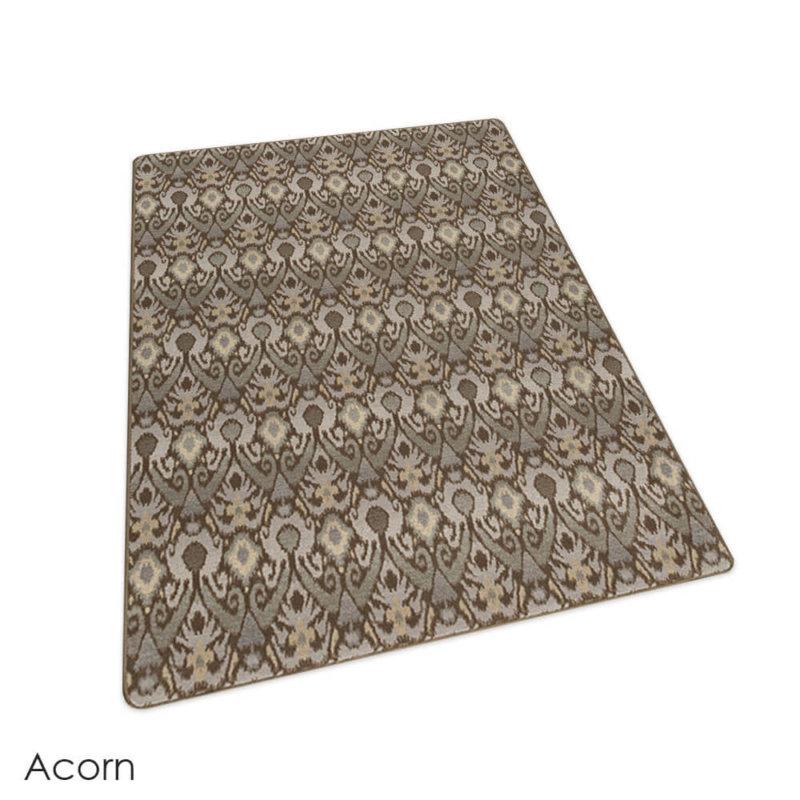 Milliken Relic Pattern Indoor Area Rug Collection Acorn