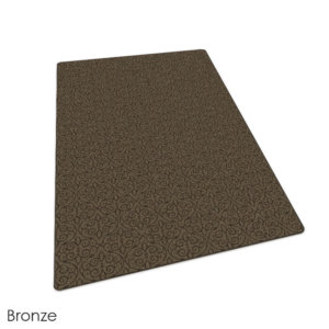 Milliken Maison Scroll Pattern Indoor Area Rug Collection Bronze
