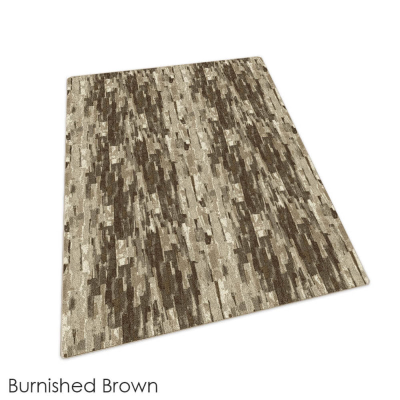 Milliken Cantera Indoor Area Rug Collection Burnished Brown