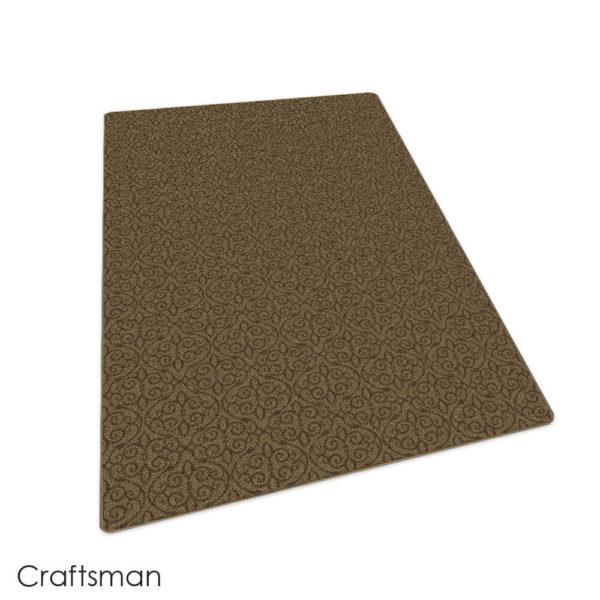 Milliken Maison Scroll Pattern Indoor Area Rug Collection Craftman