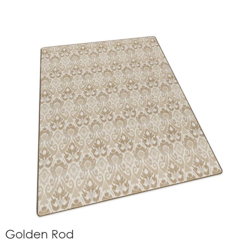 Milliken Relic Pattern Indoor Area Rug Collection Golden Rod