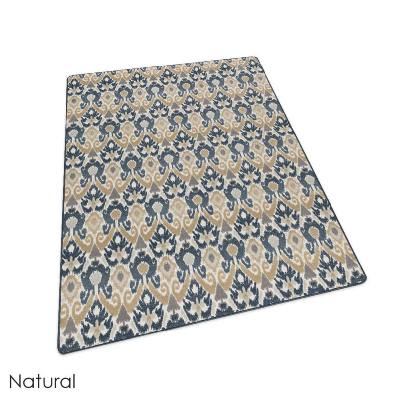 Milliken Relic Pattern Indoor Area Rug Collection Natural