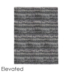 Virtuoso Ultra Soft Area Rug Shagtacular Collection Elevated top