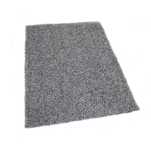 Lazy Day Grey Twisted Frieze Area Rug Carpet Rug