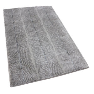 Brite Water Abstract Tides Collection Ecru Rug