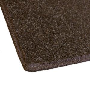 Coco Brown Indoor-Outdoor Durable Soft Area Rug Carpet Corner