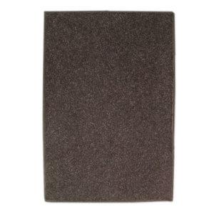 Coco Brown Indoor-Outdoor Durable Soft Area Rug Carpet Top