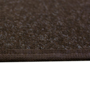Coco Brown Indoor-Outdoor Durable Soft Area Rug Carpet Side