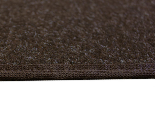Coco Brown Indoor-Outdoor Durable Soft Area Rug Carpet Side