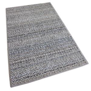 Boho Striped Beige Recycled Area Rug & Carpet Rug