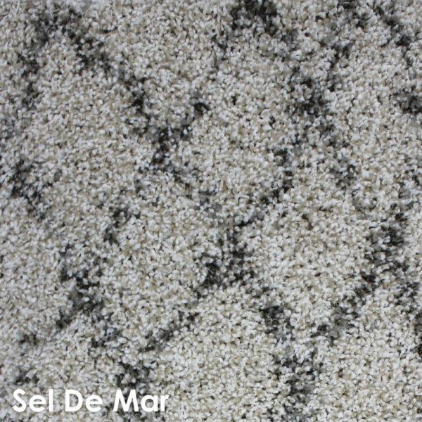 Moroccan Kasbah Shag Pattern Area Rug Collection Sel De Mar