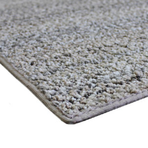 Boho Striped Beige Recycled Area Rug & Carpet Corner