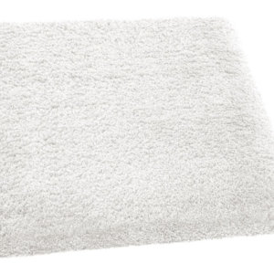 Plush Posh Shag Area Rug Collection Bleach White rug