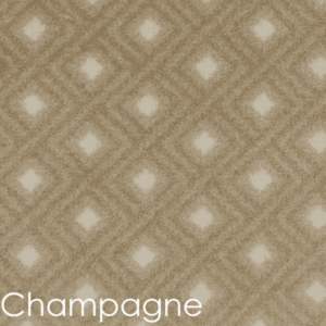 Diamante DOG ASSIST Carpet Stair Treads Champagne