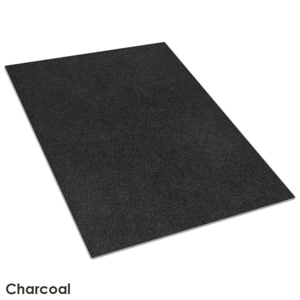 Fullton Street Charcoal Indoor-Outdoor Olefin Carpet Area Rug 1