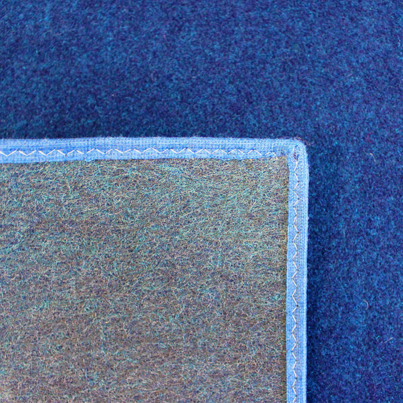 Deep Sea Indoor-Outdoor Durable Soft Area Rug Carpet Back
