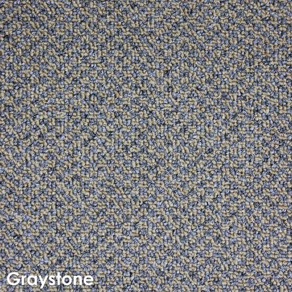 Zenith Graystone Level Loop Area Rug Carpet