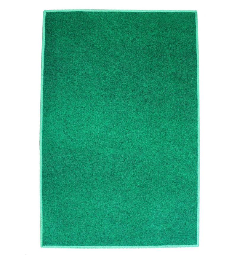 Green Indoor-Outdoor Durable Soft Area Rug Carpet Top