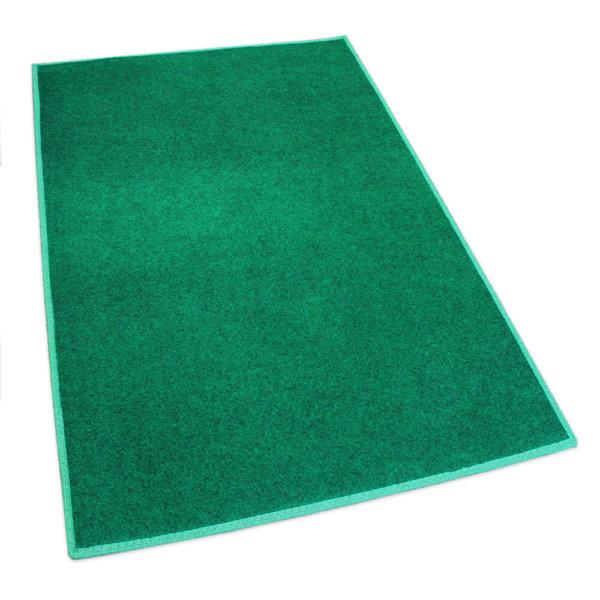 Green Indoor-Outdoor Durable Soft Area Rug Carpet Rug