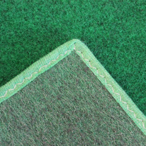 Green Indoor-Outdoor Durable Soft Area Rug Carpet Backing