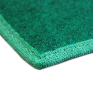 Green Indoor-Outdoor Durable Soft Area Rug Carpet Corner