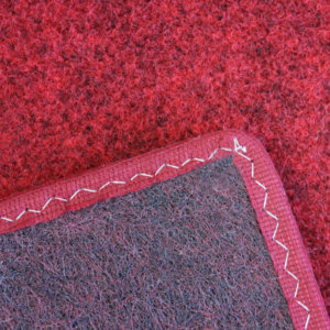 Red Indoor-Outdoor Soft Area Rug Carpet