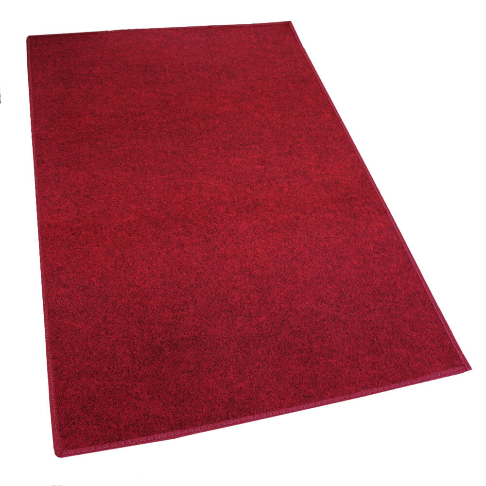 Red Indoor-Outdoor Soft Area Rug Carpet rug