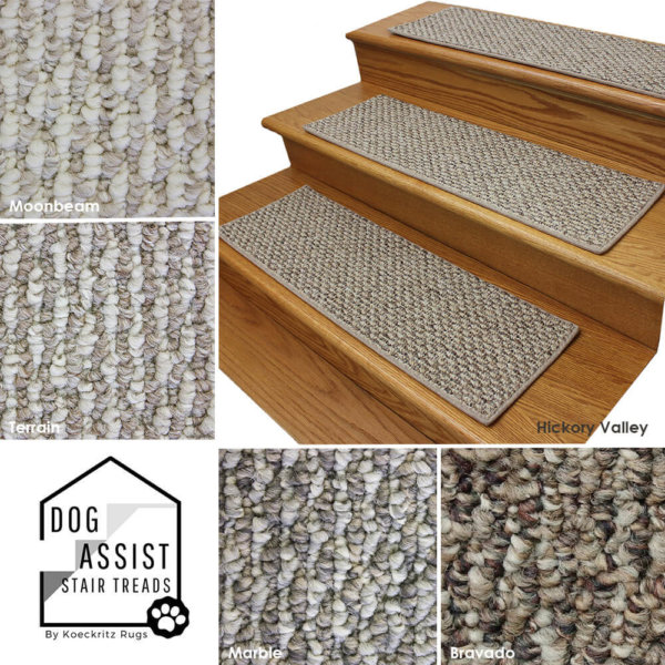 Starlight DOG ASSIST Carpet Stair Treads