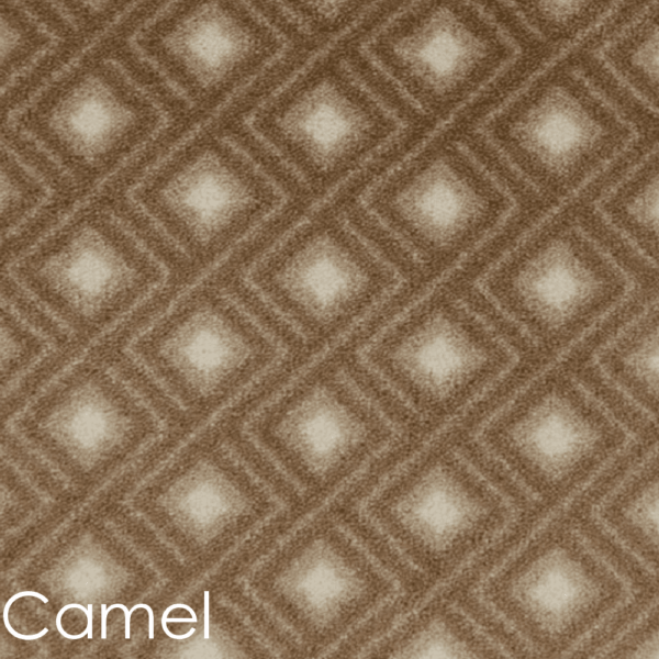 Diamante DOG ASSIST Carpet Stair Treads Camel