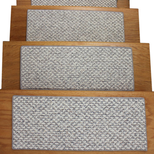 Cambridge DOG ASSIST Carpet Stair Treads Ice Ballet treads top view