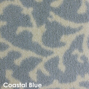 Coral Springs DOG ASSIST Carpet Stair Treads Coastal Blue