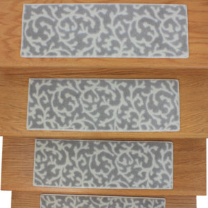 Coral Springs DOG ASSIST Carpet Stair Treads Driftwood top view