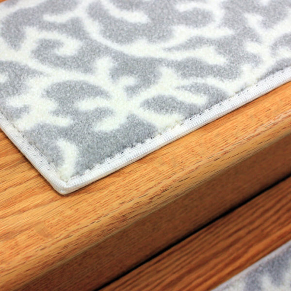 Coral Springs DOG ASSIST Carpet Stair Treads Driftwood Close up
