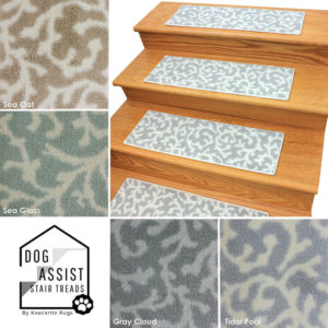 Coral Springs DOG ASSIST Carpet Stair Treads
