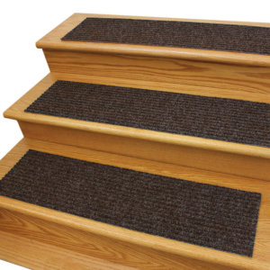 Inspiration Rubber Back Non-slip Heavy Duty Stair Treads Fudge Ripple Treads