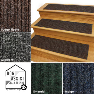Inspiration Rubber Back Non-slip Heavy Duty Stair Treads Colors