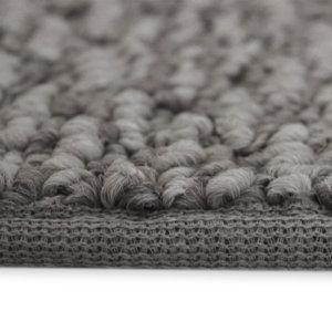 Weavers Guild Indoor Berber Area Rug Collection Nomad Grey Side