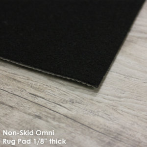 "Non-Slip Omni Area Rug Pad | 1/8"" Thick Non-Slip 