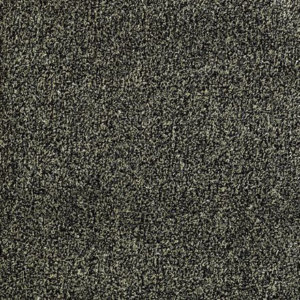 Black & Taupe Economical Artificial Grass Turf Area Rug - Light weight and easy to store