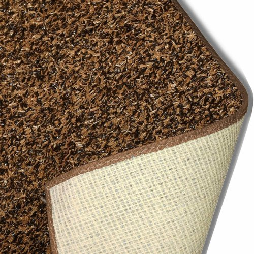 Brown Turftime Artificial Grass Area Rug and Carpet